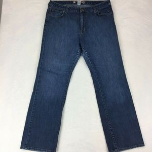 Gap bootcut midrise jeans 16 regular